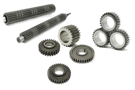 Heavy vehicles and construction machinery gears